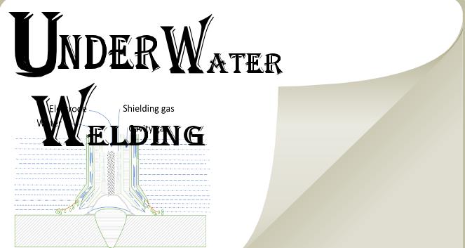 underwater welding process